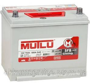 Аккумулятор автомобильный Mutlu Silver Asia 70AH L+ 680A (D26.70.063.D)