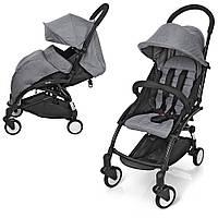 Прогулочная коляска Baby YOGA (АНАЛОГ Yoya) M 3548-11, серая