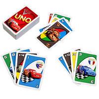 Настольная игра Уно Тачки 2 (Uno Cars 2) Игра для вечеринок