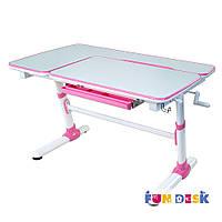 Дитячий стіл-трансформер FunDesk Invito Pink, фото 1