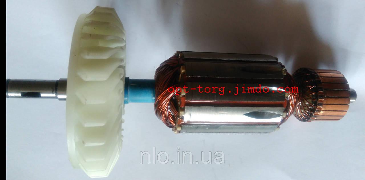 Якорь для электропилы цепной ИжМаш 2550 (197х46 посадка 10 мм)