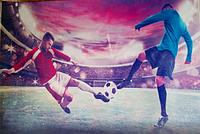 Уцененка вафельная картинка на торт. футбол спорт (деш !)