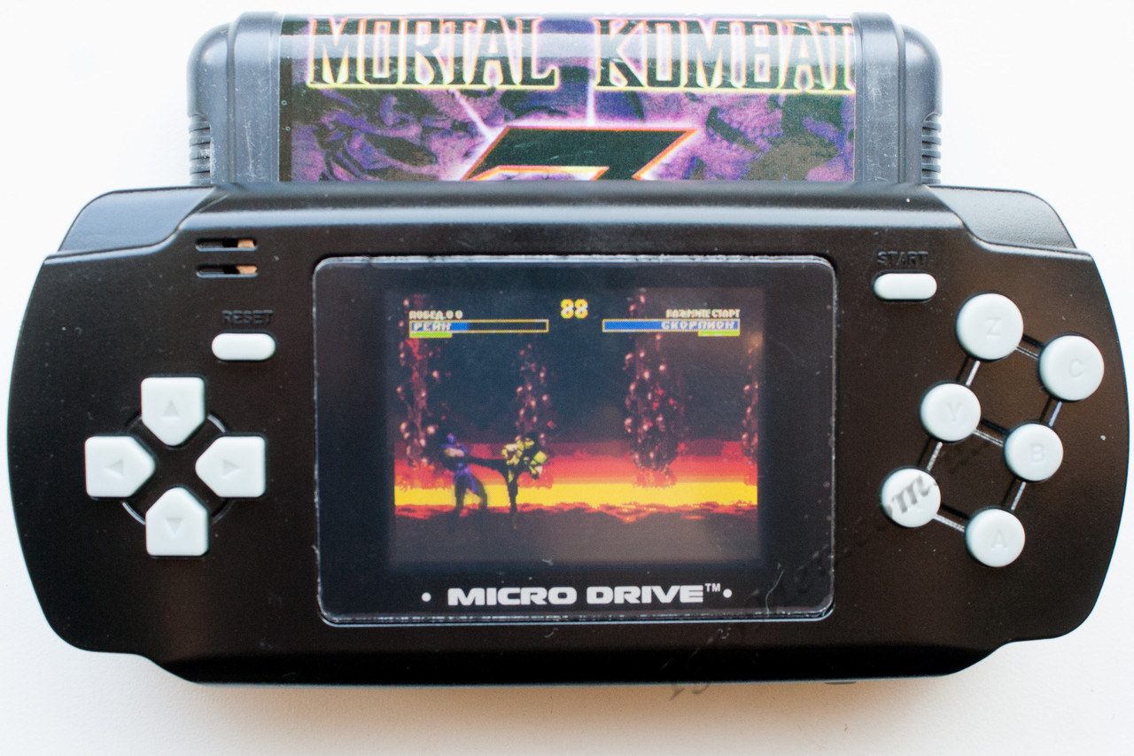 Портативна Sega Micro Drive (+19 ігор)