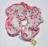 Резинка в цветочек с монеткой (от 6 шт.)