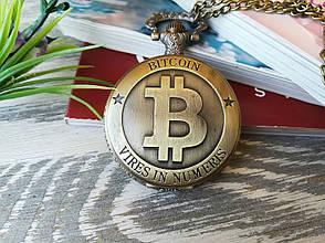 Часы Кулон Биткойн Bitcoin, фото 2
