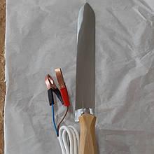 Нож пасечный с электроподогревом нержавеющей стали 230мм Гуслия