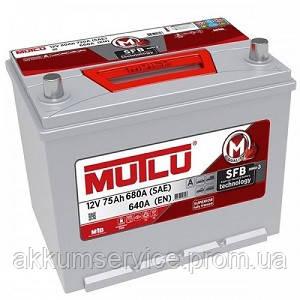 Аккумулятор автомобильный Mutlu Silver Asia 75AH L+ 680A (D26.75.064.D)
