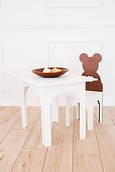 Комплект Стол и стульчик Мишка