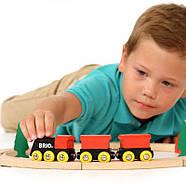 Железная дорога BRIO Деревянная ж/д с грузовым поездом 33042, фото 2