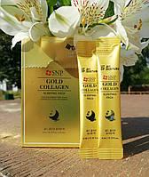 Ночная увлажняющая маска для лица в стиках SNP Gold Collagen Sleeping Pack
