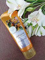 Увлажняющая маска для блеска волос с аргановым маслом Welcos Confume Argan Gold Treatment 200 ml