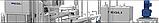 Бу закрытый бункер для сливочного масла Egli 3000 л, фото 5