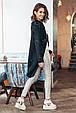 Женский вязанный кардиган Мохито черный (44-52), фото 4