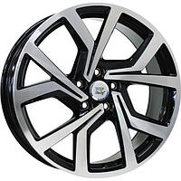 Литые диски WSP Italy Volkswagen (W469) Giza R18 W7.5 PCD5x112 ET51 DIA57.1 (gloss black polished)