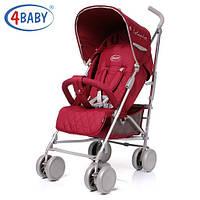 Детская прогулочная коляска 4Baby Le Caprice Red