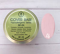 Cover Base Milano Luxury №4 30мл (гипоаллергенная)