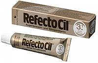 Рефектоцил №3,1 Светло-коричневая - краска для бровей и ресниц RefectoCil 15 мл