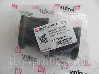 Втулка стабилизатора (заднего) MB Sprinter/VW Crafter 06- (d=15mm) — Solgy — 201014