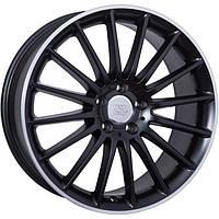 Литые диски WSP Italy Mercedes (W773) Shanghai R19 W8 PCD5x112 ET45 DIA66.6 (black full polished)