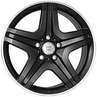 Литые диски WSP Italy Mercedes (W775) Miyagi R20 W9.5 PCD5x130 ET50 DIA84.1 (black full polished)