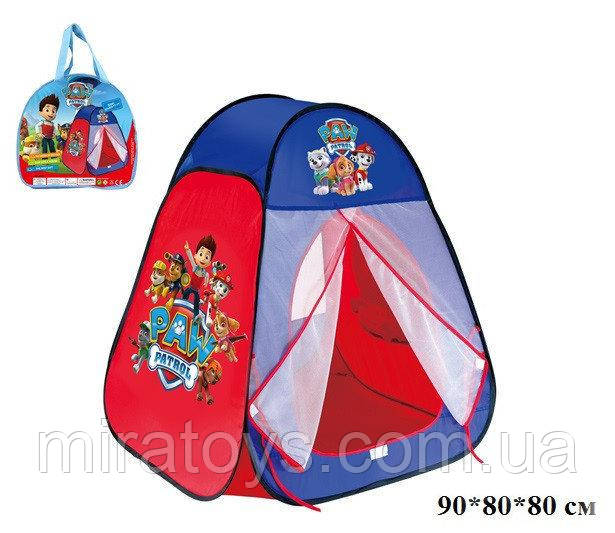 """Палатка 817S """"Щенячий патруль"""" в сумке 90*80*80 см"""