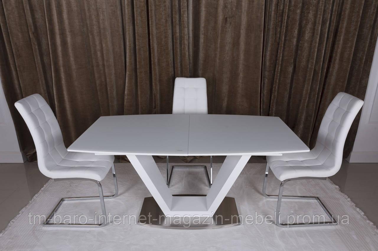Стол Detroit (Детройт), белый (Бесплатная доставка), Nicolas