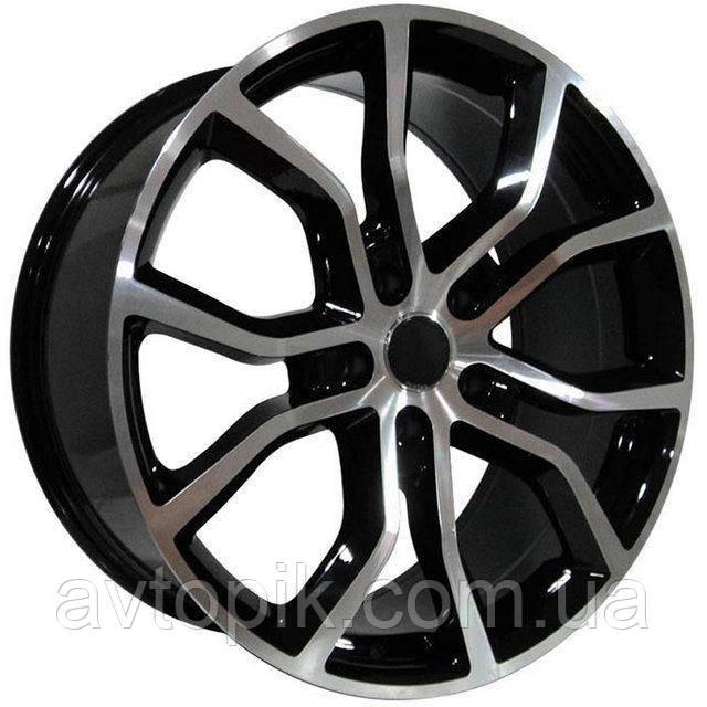 Литые диски Replica Porsche (BK5362) R21 W9.5 PCD5x130 ET50 DIA71.6 (GMF)