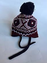 Детская шапка для мальчика BRUMS Италия 133BDLA003 Красный