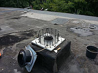 Чистка корпуса вентилятора от жировых отложений. Киев