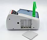 Портативный счётчик банкнот FengJinTech FJ-V30 светло-серый (FGV30), фото 6