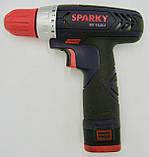 Аккумуляторная дрель Sparky BR 10,8 Li (1,3 Ah), фото 4