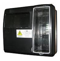 Ящик для 1/3-фазного счетчика DOT-3.1В (выпуклый) 9 модулей IP54 NiK