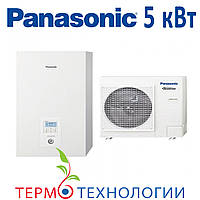 Тепловой насос воздух-вода Panasonic 5 кВт HP с гидромодулем