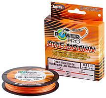 Шнур Power Pro Bite Motion 150m Orange/Black 0.10mm 5kg/11lb