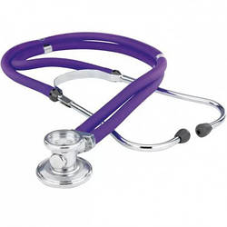 Стетоскоп ФИОЛЕТОВЫЙ Раппопорта стетофонендоскоп Little Doctor LD Special 56 см, 4 комбинаций