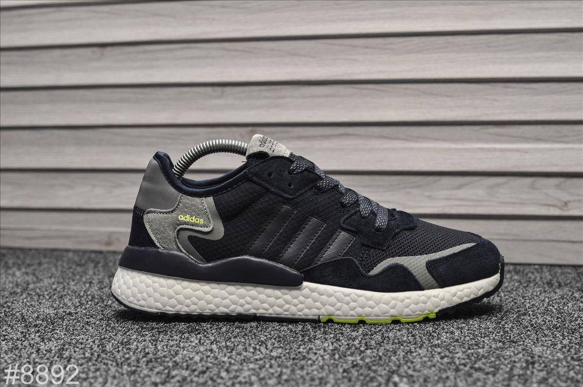 Кроссовки мужские Adidas Nite Jogger Navy качество