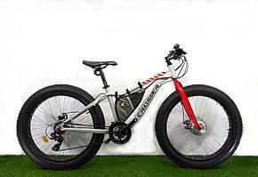 """Электровелосипед Fat Bike 26"""" (литий-ионный аккумулятор). Распродажа! Оптом и в розницу!"""