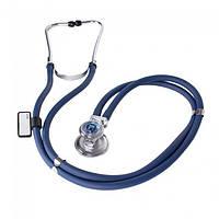 Стетоскоп СИНИЙ Раппопорта стетофонендоскоп Little Doctor LD Special 56 см, 4 комбинаций