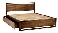 """Кровать двуспальная """"Бинго"""" дерево ясень (с ящиками) 1670*2070 мм"""