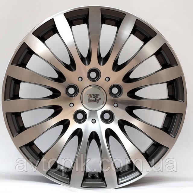 Литые диски WSP Italy BMW (W663) Glazgo R17 W8 PCD5x120 ET34 DIA72.6 (anthracite polished)
