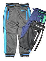 Спортивные брюки-эластик для мальчика оптом, размеры 98,104,116, арт. BRT 8131
