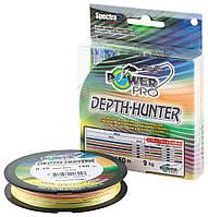 Шнур Power Pro Depth-Hunter 150m Multi Color 0.13mm 8kg/17.5lb