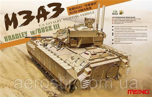 M3A3 BRADLEY w/BUSK III 1/35 Meng Model SS006