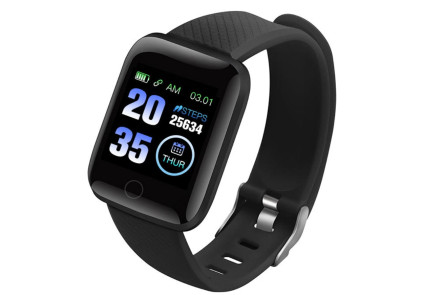 Фитнес браслет Smart Band iBanD B6 Черный