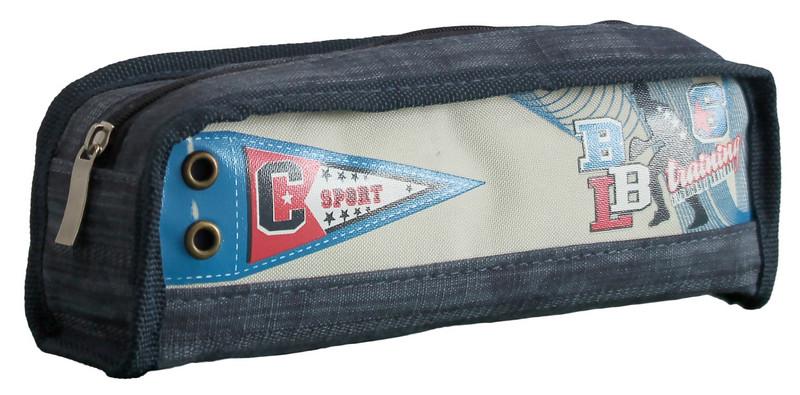 Пенал-кошелек, 20.5*7.5*4.5cм, PL, цвет ассорти, 18024, SAF