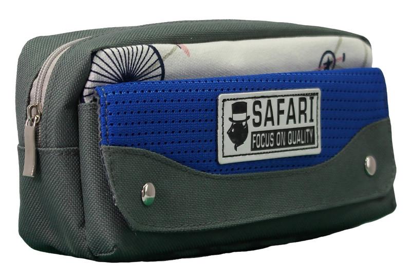 Пенал-кошелек с карманом, 21*9*6см, PL,цвет ассорти, 18025, SAF
