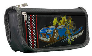 Пенал-кошелек с карманом, 21*8.5*5см, PL,цвет ассорти, 18018, SAF, фото 2