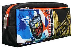 Пенал-кошелек с карманом, 20*9*6см, PL,цвет ассорти, 18023, SAF