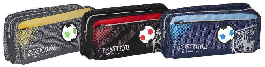 Пенал-кошелек с карманом, 20*8*5см, PL,цвет ассорти, 19010, SAF, фото 2