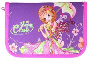 Пенал 1-ярусный с 2отворотами.,пустой, «Fairy Club»,210/70D PL, CLASS, арт. 99205, фото 2